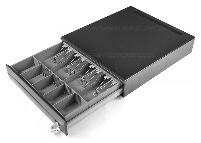 4B 5C Electronic Cash Register Money Storage Box / POS Cash Drawer USB 400A